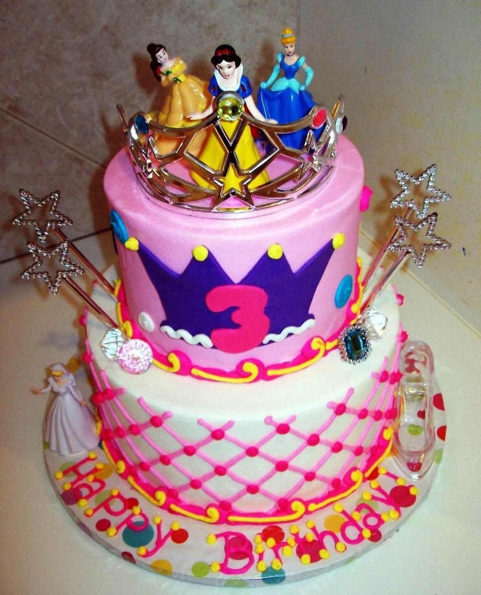 How To Make Birthday Cake How To Make Disney Princess Birthday Cakes Disney Princess