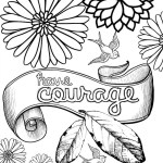 Inspirational Adult Coloring Pages Adult Coloring Pages With Quotes Revealing Inspirational Best Of
