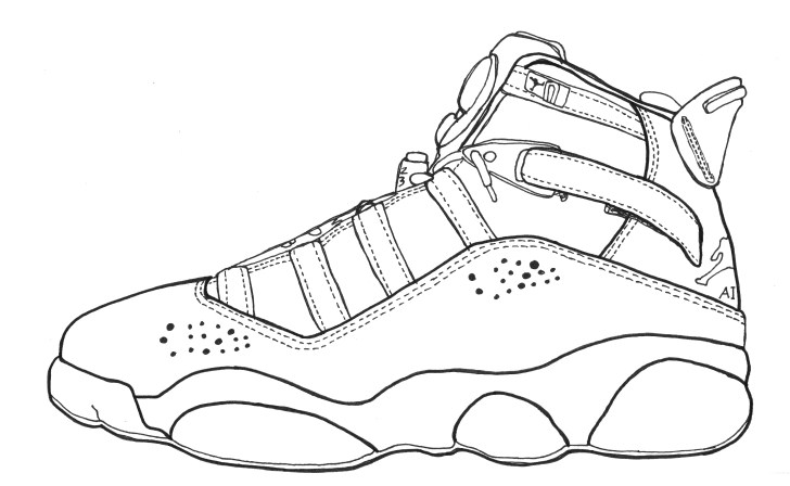 27+ Exclusive Picture of Jordan 12 Coloring Pages