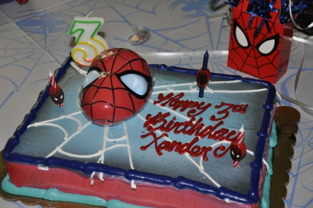 King Soopers Birthday Cakes Spider Man Cake From King Soopers Spiderman Party Spiderman