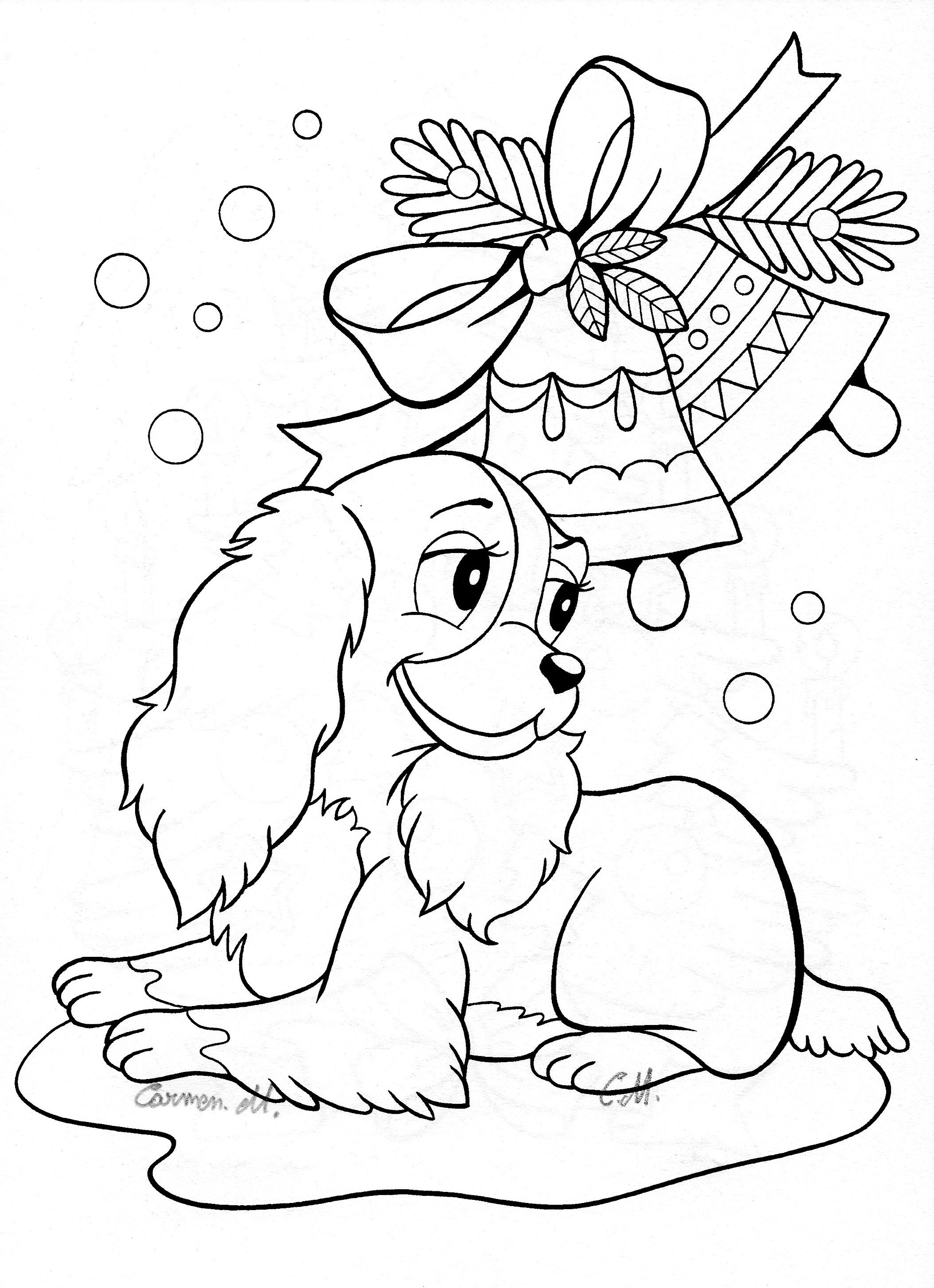 Lady And The Tramp Coloring Pages Disney Coloring Pages Lady And The ...
