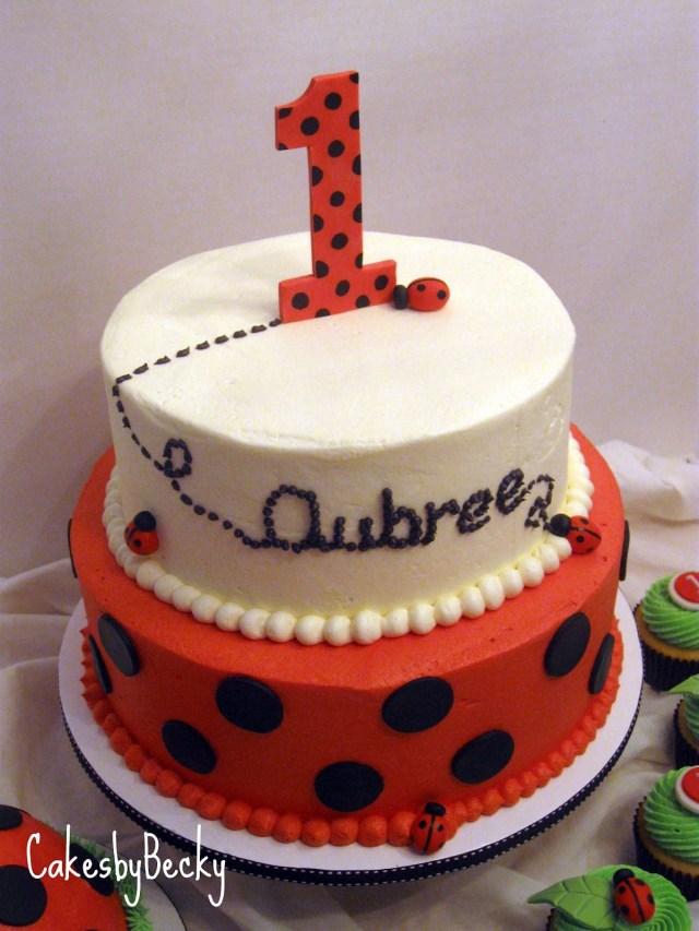 Ladybug Birthday Cake 11 Cakes For 1st Birthdays Photo First