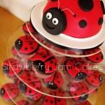 Ladybug Birthday Cake Ladybug Cupcake Tower Angela Lauren My Little Ladybug Lovable