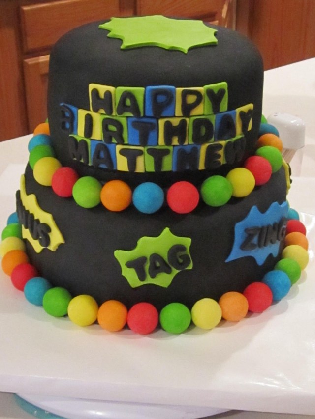 Laser Tag Birthday Cake Laser Tag Birthday Cake Party Ideas In 2018 Pinterest Birthday