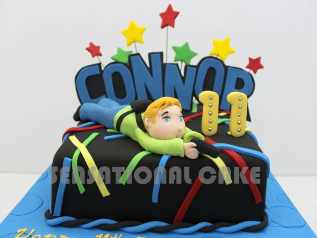 Laser Tag Birthday Cake Laser Tag Theme Cake Google Search Jorges 13th Pinterest