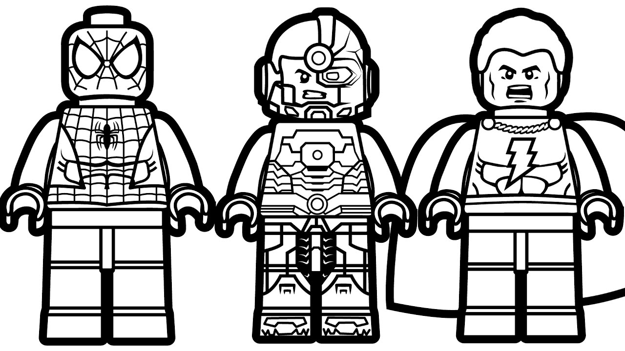 Lego Coloring Pages Lego Flash Coloring Pages Coloring Pages For