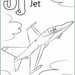 Letter J Coloring Page Letter J Coloring Page Best Of Letter J Is For Jet Coloring Page