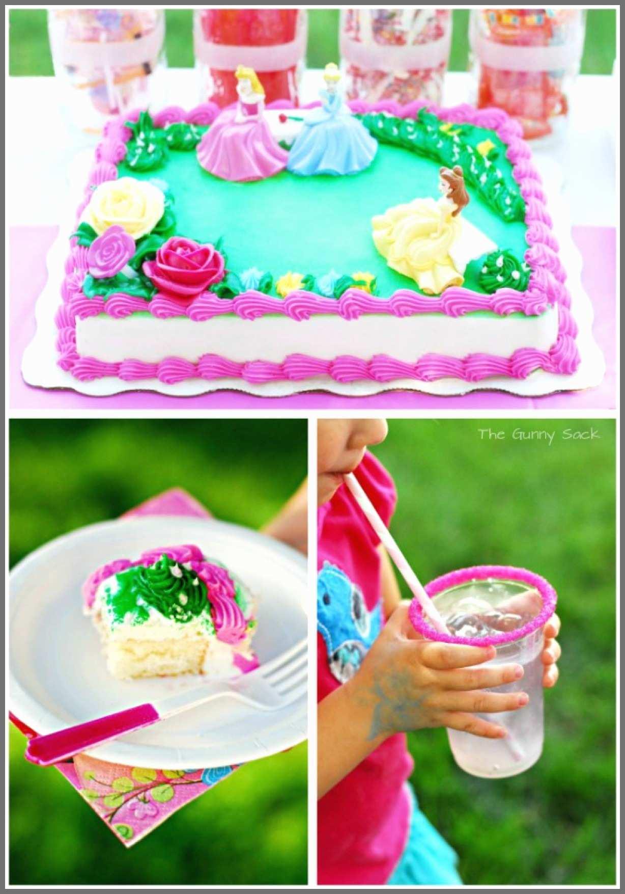 Little Mermaid Birthday Cake Walmart Princess Cakes Best Of Ideas Adorable