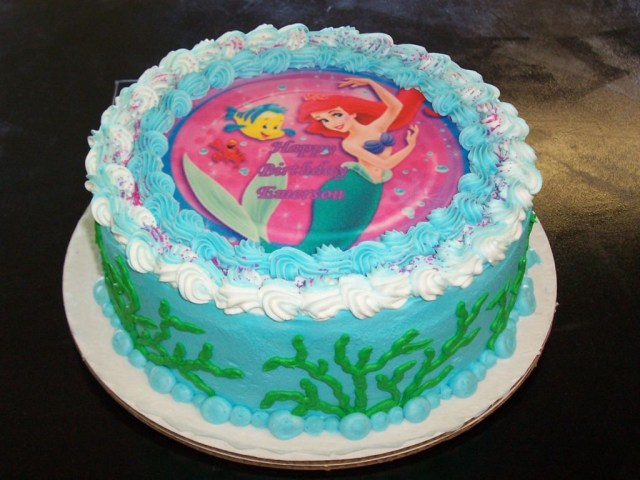 Little Mermaid Birthday Cake Walmart The Little Mermaid Birthday Cake Ideas Wedding Academy Creative