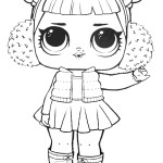 Lol Coloring Pages Lol Surprise Doll Snow Angel Coloring Page Free Printable Coloring