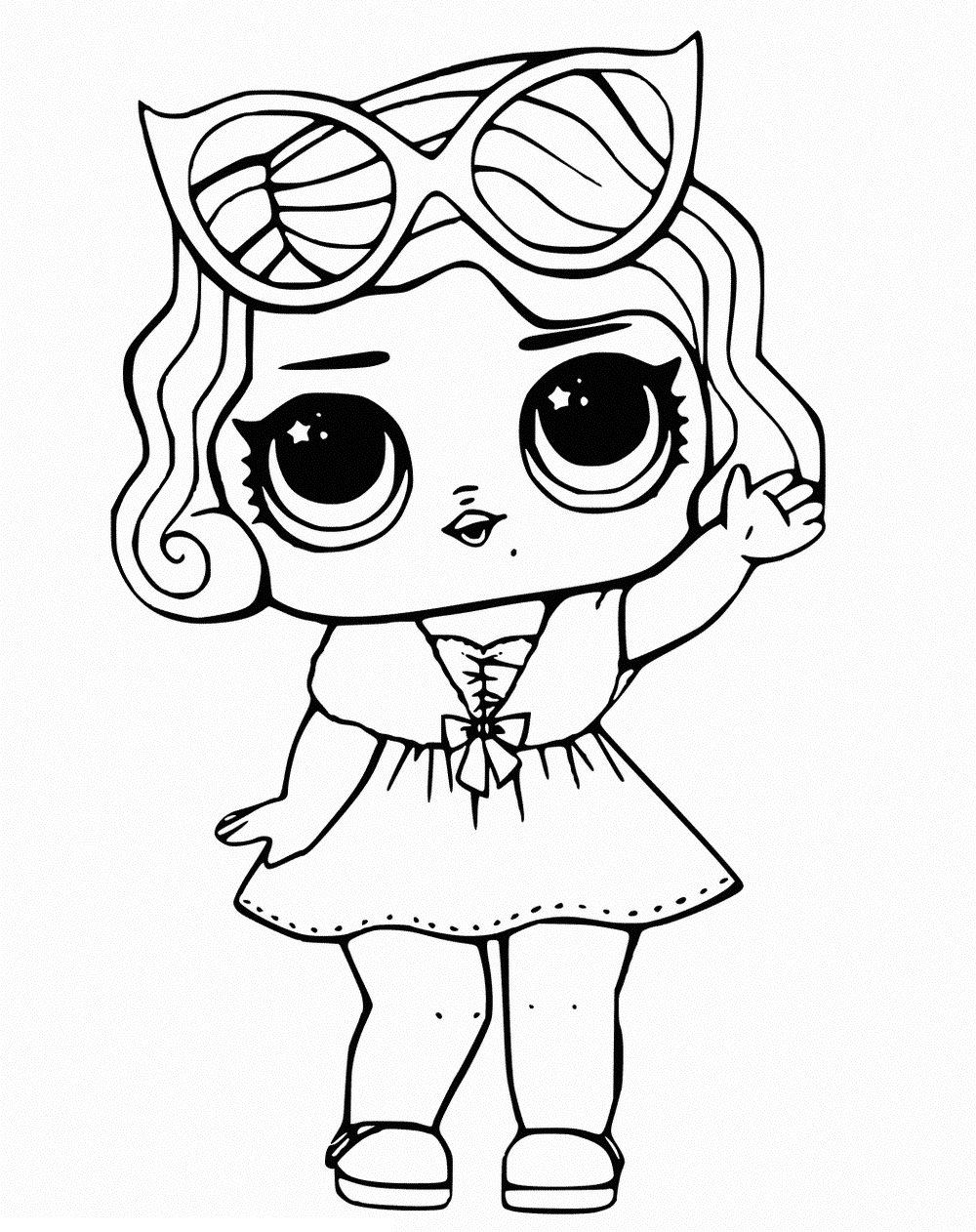 Lol Coloring Pages Lol Surprise Dolls Coloring Pages Print Them For