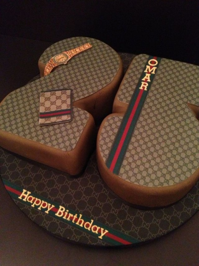 Men Birthday Cakes 12 Gucci For Men Birthday Cakes Photo Gucci Themed Birthday Cake