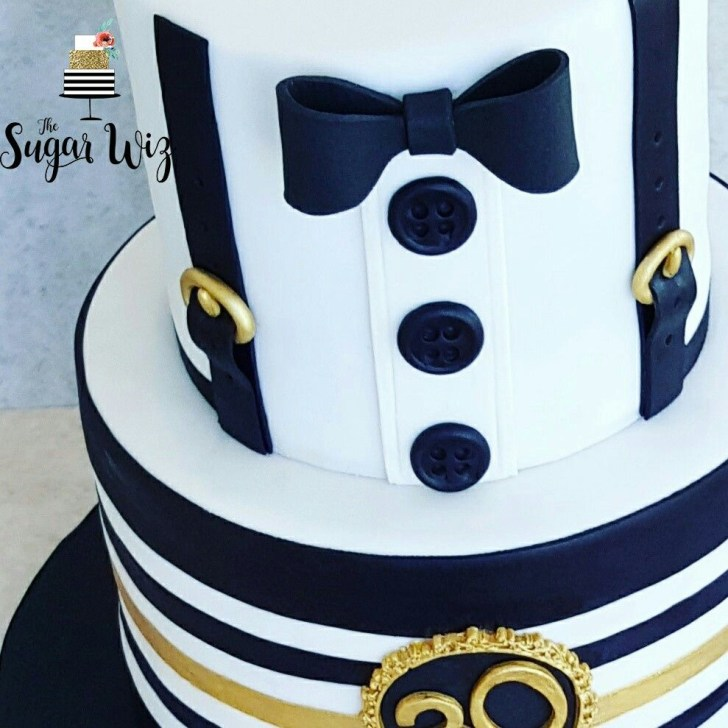 30 Excellent Photo of Men Birthday Cakes
