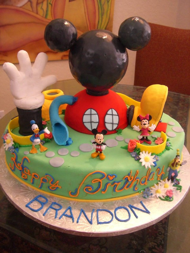 Mickey Mouse Birthday Cake 10 Mickey Mouse Birthday Cakes Amazing Photo Mickey Mouse Cake