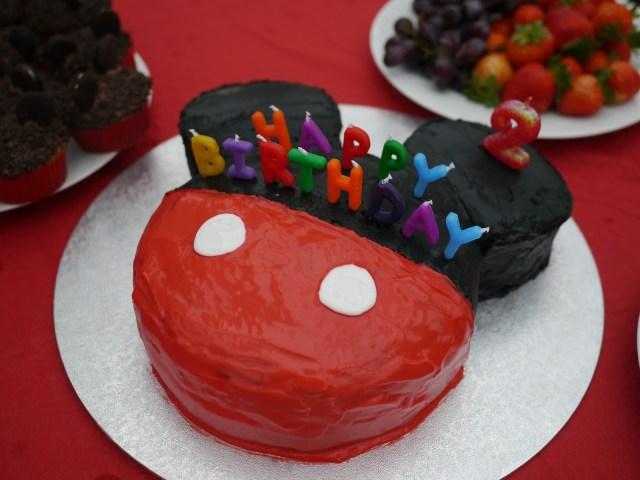 Mickey Mouse Birthday Cake Ideas 13 Homemade Mickey Mouse Birthday Cakes Photo Homemade Mickey
