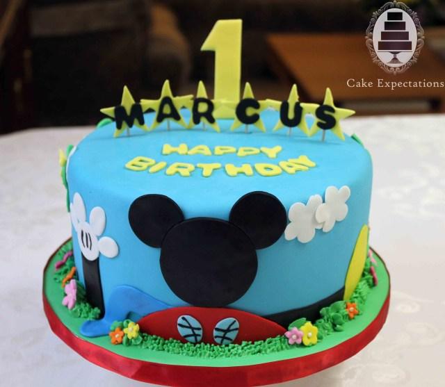 Mickey Mouse Birthday Cake Ideas Mickeymouse Birthday Cakes