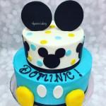 Mickey Mouse Birthday Cake Mickey Mouse Birthday Cake Alyssas Cakery