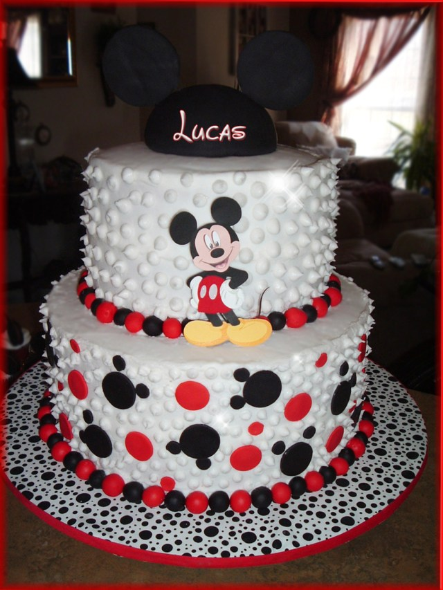Mickey Mouse Birthday Cakes Mickey Mouse Birthday Cake Cakecentral