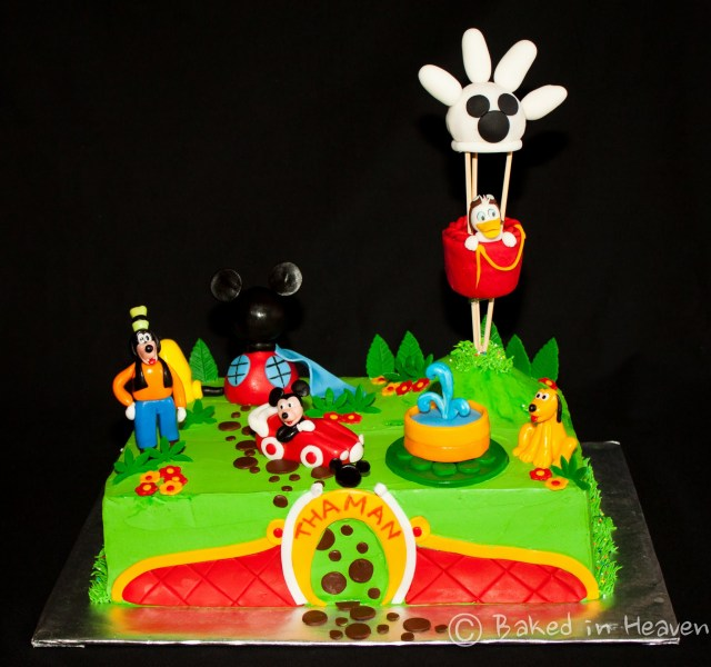 Mickey Mouse Clubhouse Birthday Cakes Mickey Mouse Clubhouse Baked In Heaven