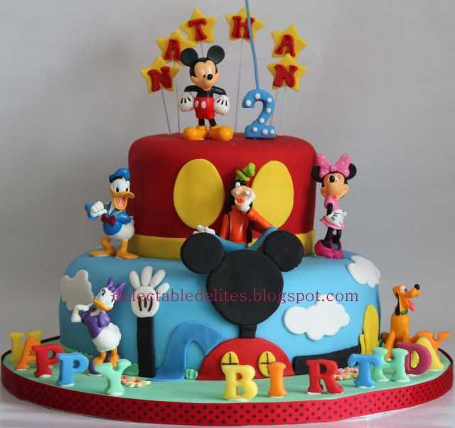Mickey Mouse Clubhouse Birthday Cakes Mickey Mouse Clubhouse Birthday Cake Mickey Mouse Birthday Party