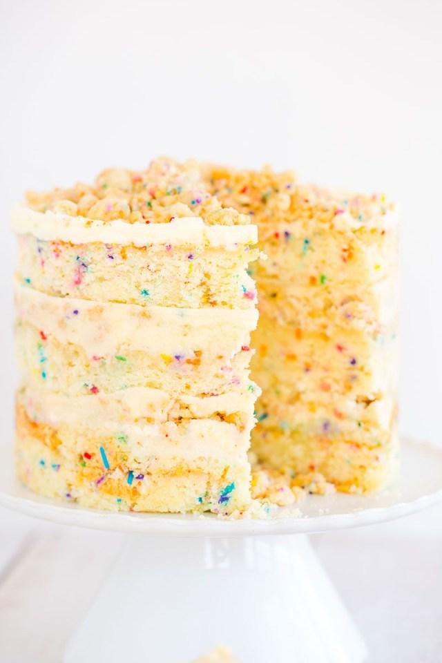 Milk Bar Birthday Cake Momofuku Birthday Cake Recipe Cakes Pinterest Cake Momofuku