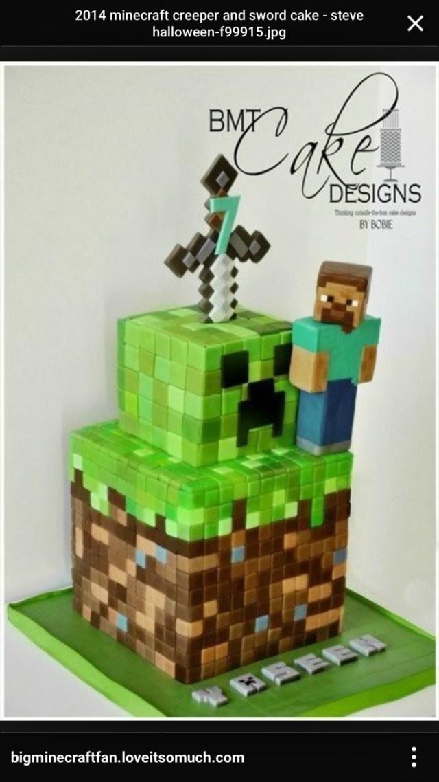 Minecraft Birthday Cake Toppers Minecraft Sword Cake Topper Fiscalreform
