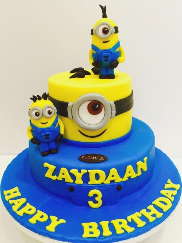 Minions Birthday Cake Birthday Cake With Name And Photo Page 7 Amazingbirthdaycakescf