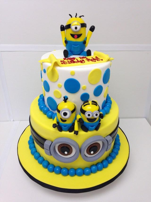 Minions Birthday Cake Minions Cake Despicable Me Minions Party Birthday Cake