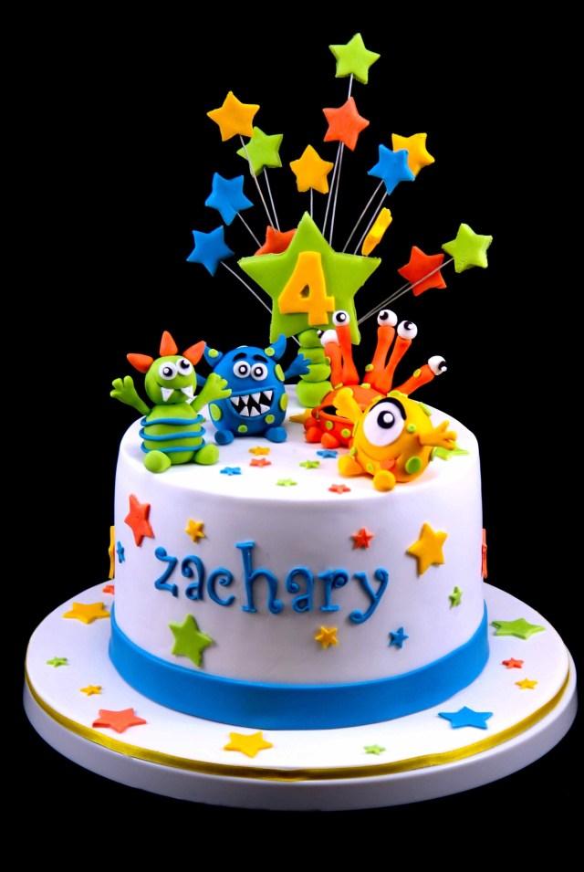 Monster Birthday Cake Childrens Birthday Cakes Cake Love In 2018 Pinterest Cake