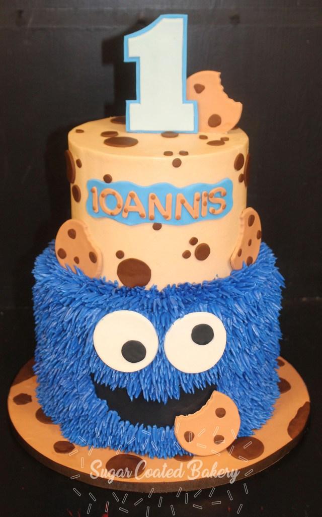 Monster Birthday Cake Sugar Coated Bakery Lowell Baking Everyday Better