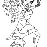 Monster High Coloring Page Coloring Page Coloring Page Monster High Book Pages Games