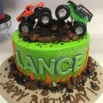 Monster Jam Birthday Cake Monster Truck Birthday Cake Custom Cakes Pinterest Monster
