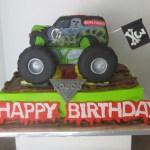 Monster Truck Birthday Cakes 9 Pickup Truck Sheet Cakes For Boys Photo Monster Truck Birthday
