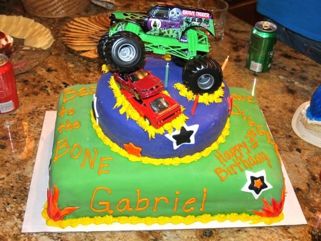 Monster Truck Birthday Cakes Baking Memories Monster Truck Birthday Cake