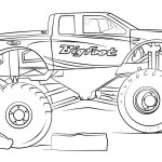 Monster Truck Coloring Pages Remarkable Free Monster Truck Coloring Pages To Print Max D Page