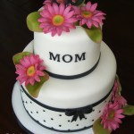 Mother Birthday Cake 6 Mothers Day 2 Tier Cakes Photo Mothers Day Mother Birthday