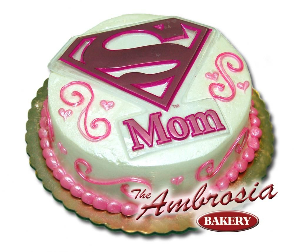 Mother Birthday Cake Mommy Cakes Mom Know How Super She Is With This