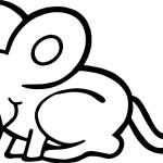 Mouse Coloring Page Dirty Mouse Coloring Page Wecoloringpage