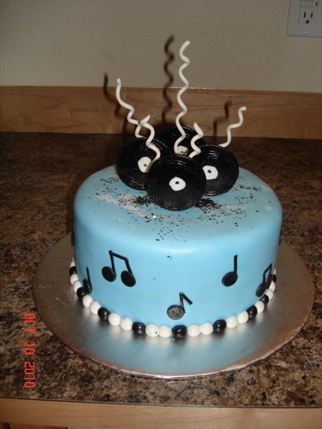 Music Birthday Cakes Custom Cakes Denise Music Birthday Cake
