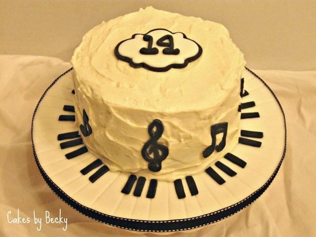 Music Birthday Cakes Music Birthday Cakes