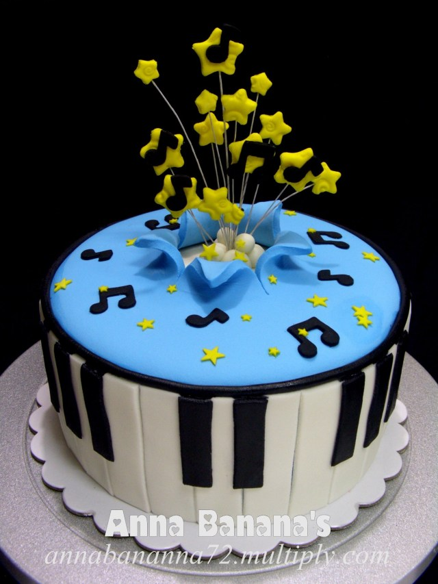 Music Birthday Cakes Need Pictures Of Birthday Cakes With A Musical Theme Original