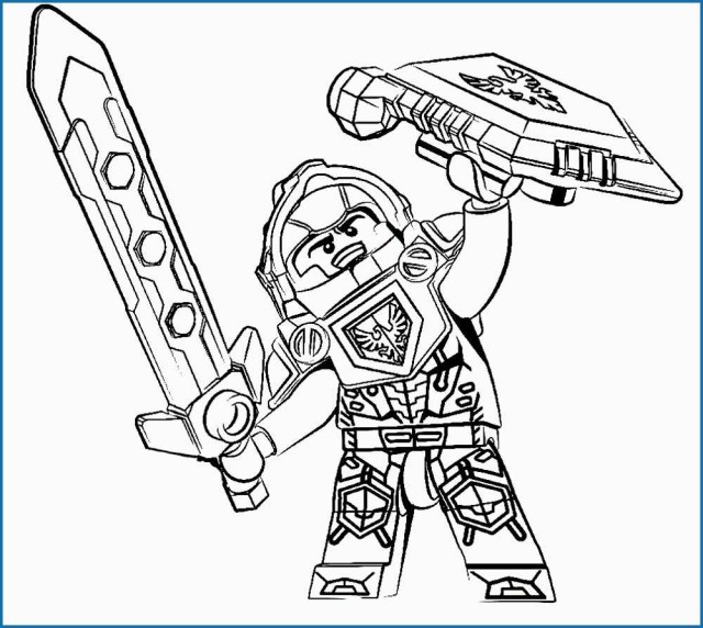 25 creative image of nexo knights coloring pages