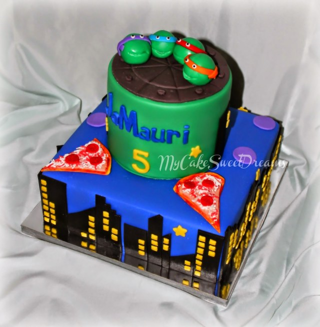Ninja Turtles Birthday Cake Mycakesweetdreams Ninja Turtles Birthday Cake