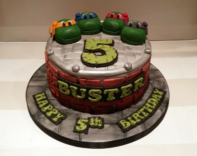 Ninja Turtles Birthday Cake Tmnt Ninja Turtles Birthday Cake Bakealous