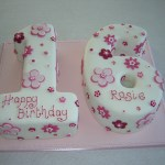Number Birthday Cakes 8 Pink Number 16 Birthday Cakes Photo Sweet 16 Birthday Cake