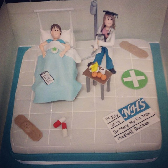Nurse Birthday Cake Birthday Cakes London Children Adult Birthday Cakes
