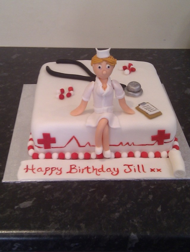 Nurse Birthday Cake Nurse Themed Birthday Cake Cakecentral