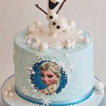 Olaf Birthday Cake Frozen Birthday Cake Olaf Elsa Baking In 2019 Pinterest Bolo