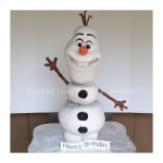 Olaf Birthday Cake Olaf Birthday Cake Valentina Of Valentinas Cake Design Flickr