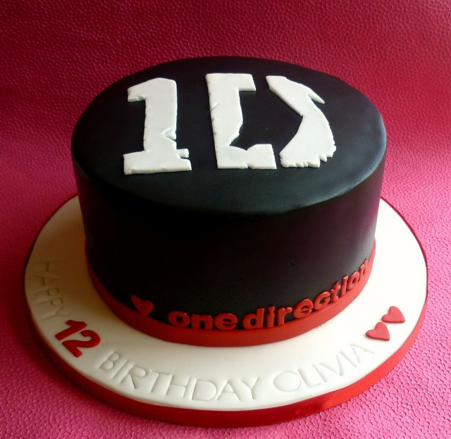 One Direction Birthday Cake One Direction Birthday Cake One Direction Themed Cake De Flickr